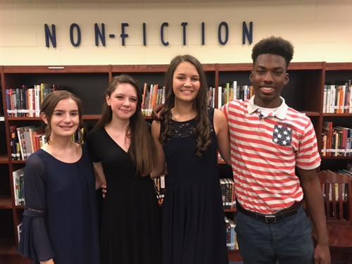 2017-2018 Sophomore Class Officers