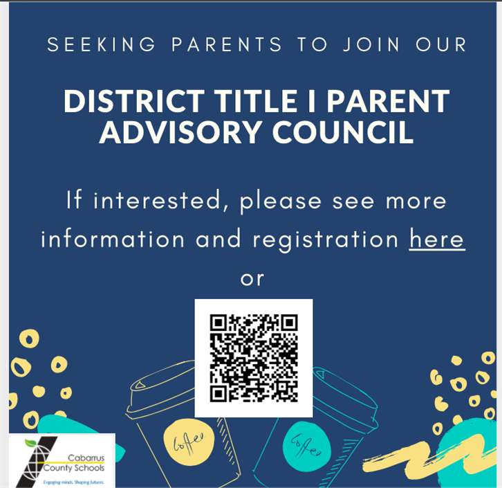 District Title 1 Parent Advisory Council: Parents Needed