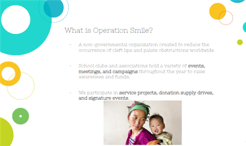what is operation smile.