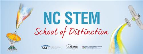 Coltrane-Webb is a NC STEM School of Distinction at the Model Level - the State's highest rating for STEM Schools!