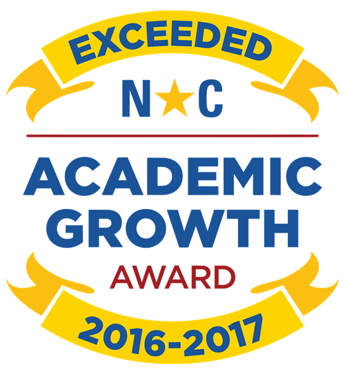 Exceeded NC Academic Growth Award