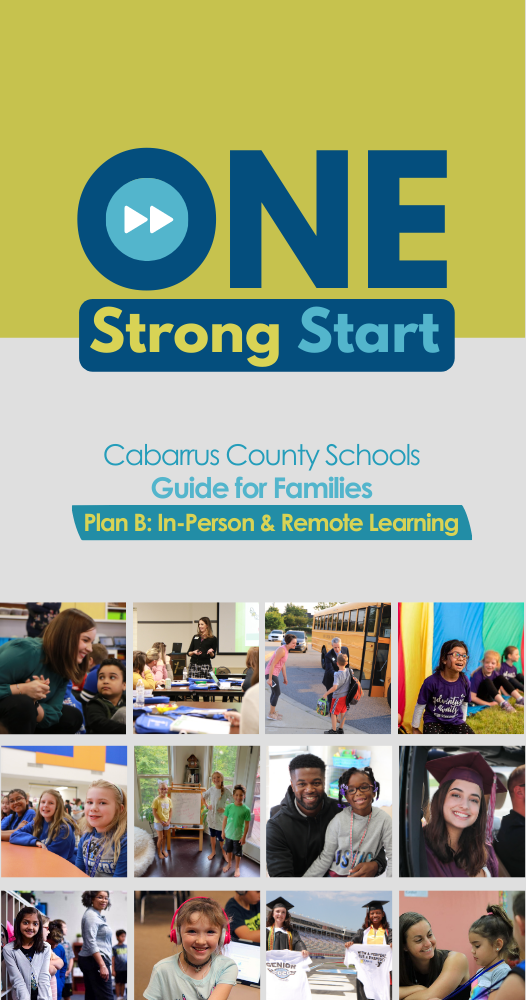 One Strong Start | Guide for Families | Plan B: In-Person & Remote Learning