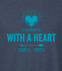 Students With a Heart T-Shirt Fundraiser