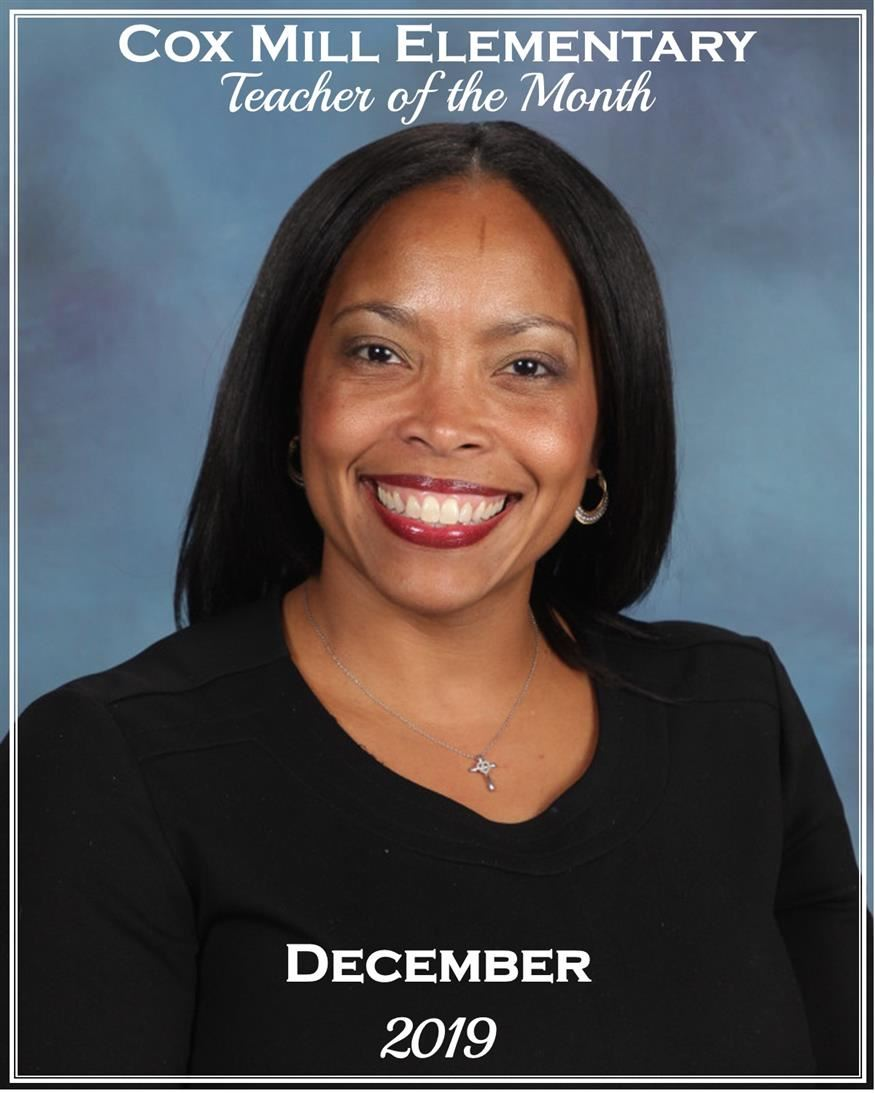 CMES Teacher of the Month