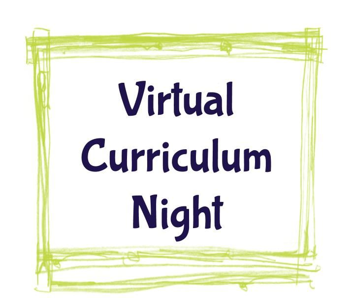 Virtual Curriculum Night Presentation