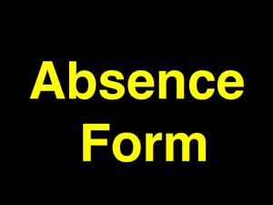 absence form