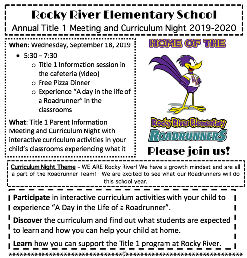 Rocky River Elementary / Homepage