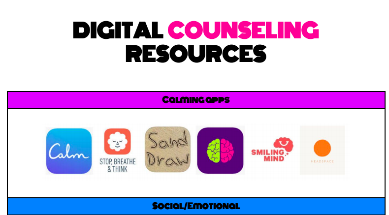RBMSES Digital Counseling Resources