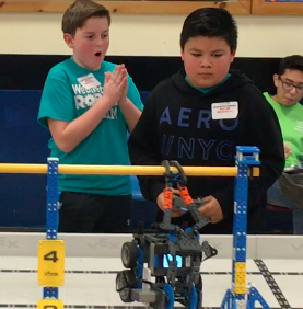 Our Vex IQ Teams Compete at Coltrane Webb