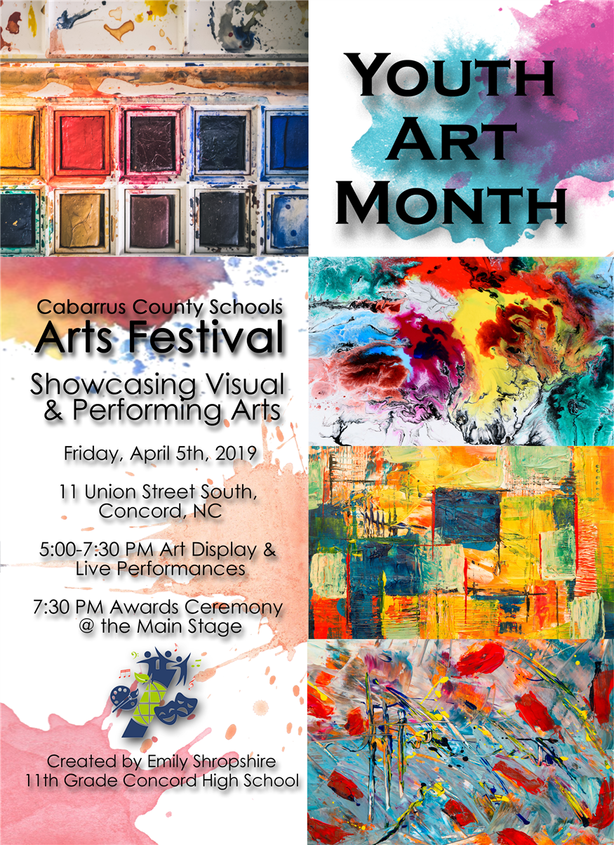 April is Youth Art Month