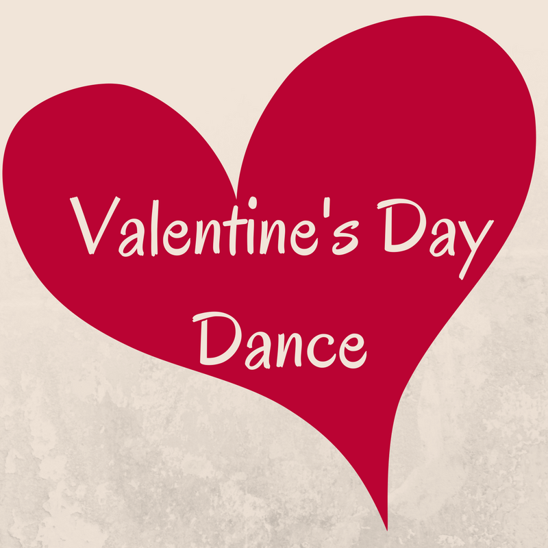 Valentine's Day Dance - February 1 from 5:30 - 7:30