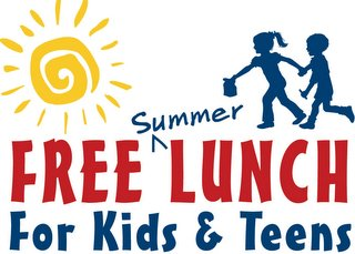 Free Lunches Available This Summer