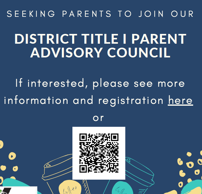 Title I District Parent Advisory Council Invitation