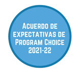 Acuerdo de expectativas de  Program Choice 2021-22
