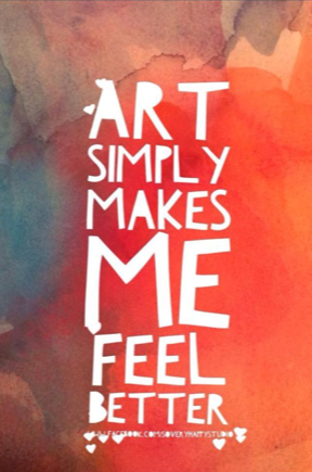 Art Makes You Feel Better!