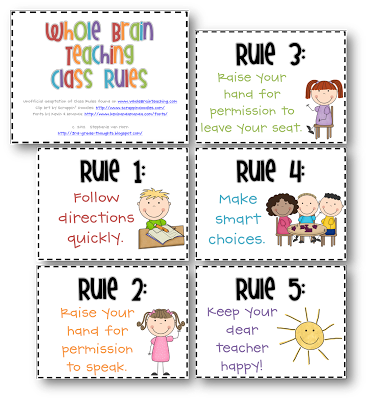 photo regarding Classroom Rules Printable titled Burd, Kimberly / Clroom Tips