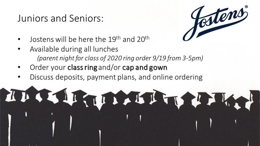 Gap and Gowns/ Class Rings
