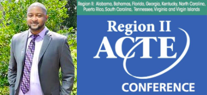 Mr. Elliott to be a Speaker at the 2019 ACTE Region II Leadership Conference