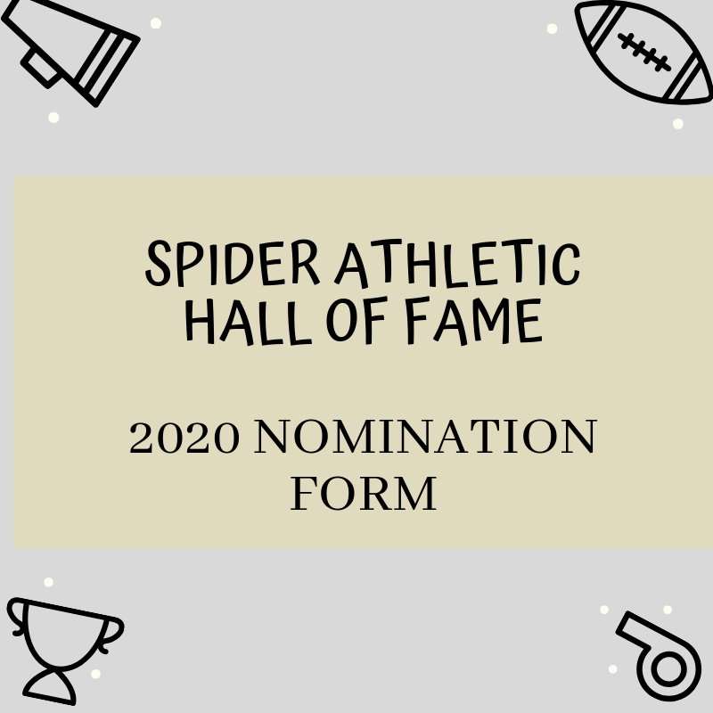 2020 Athletic Hall of Fame Nomination Form