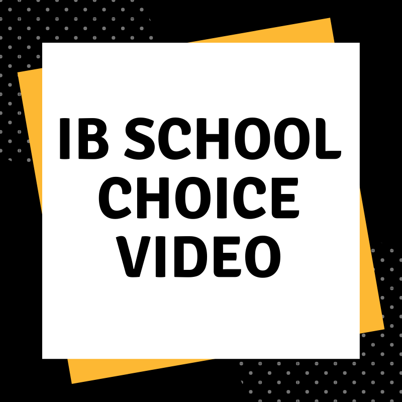 IB School Choice Video 2019- See the great things the IB Program has to Offer!