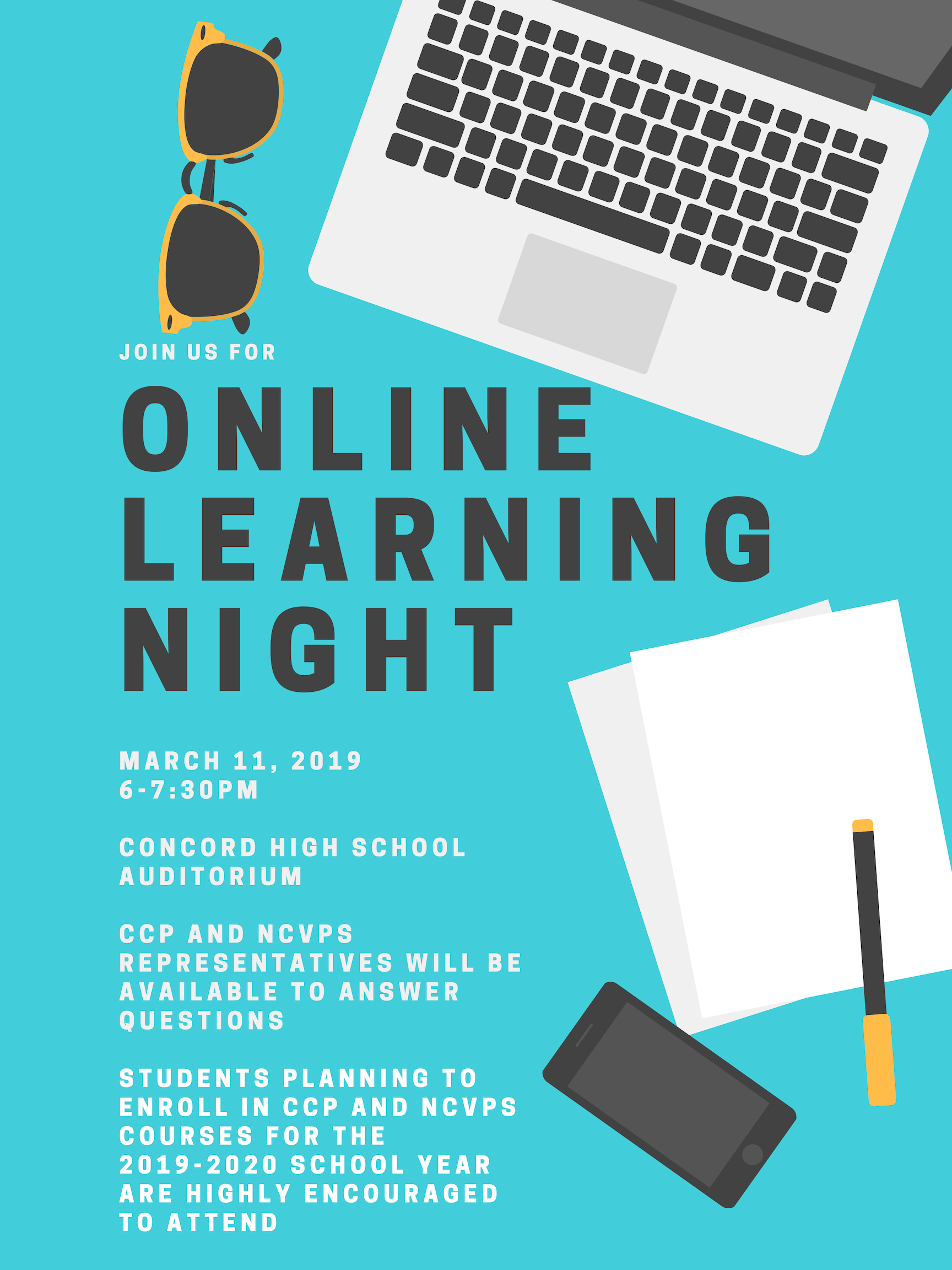 Online Learning Night
