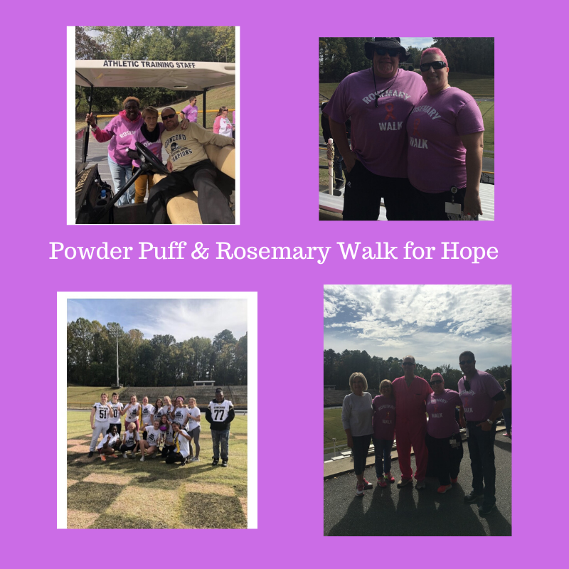 Powder Puff & Rosemary Walk for Hope