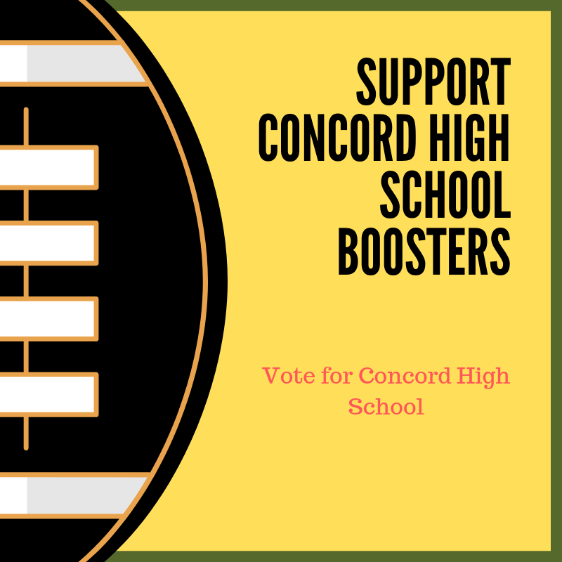 Vote to Support Concord High School