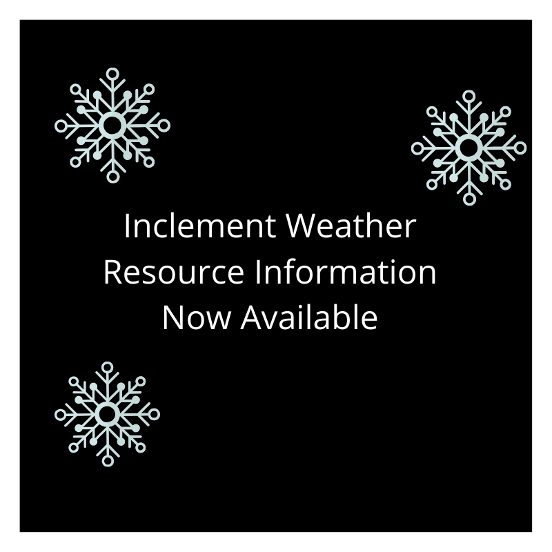 Cabarrus County Schools Inclement Weather Resource Now Available
