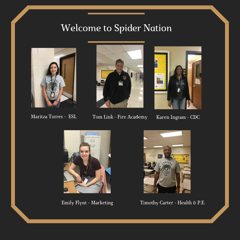 New Faces in Spider Nation