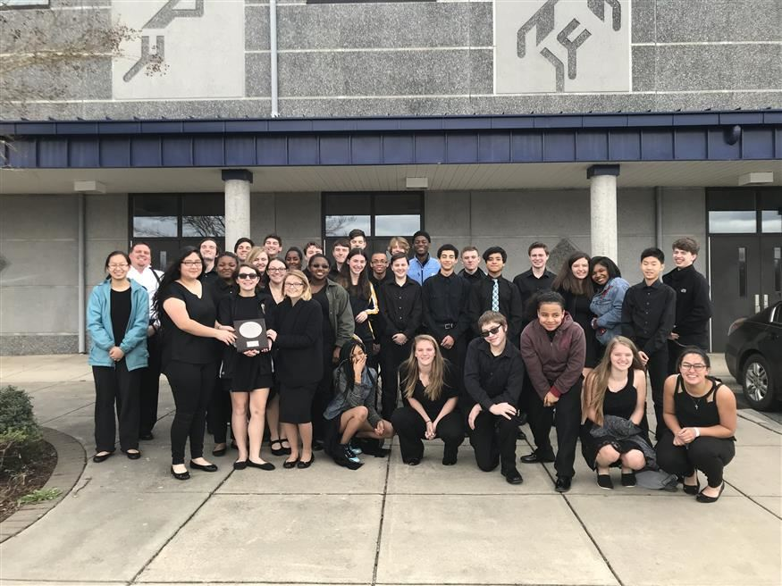 Band wins honors at competition
