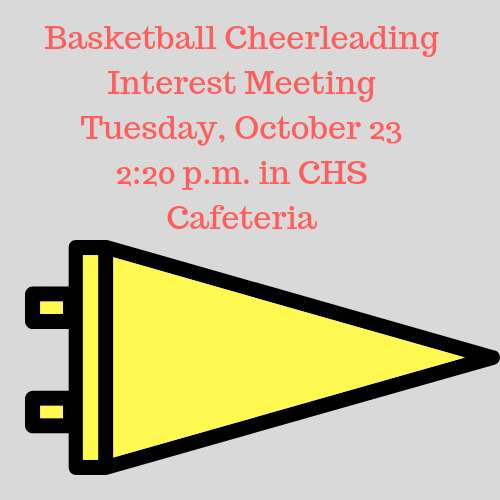Cheer for Concord, be a cheerleader!