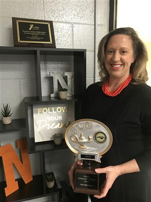 NCMS Principal Recognized