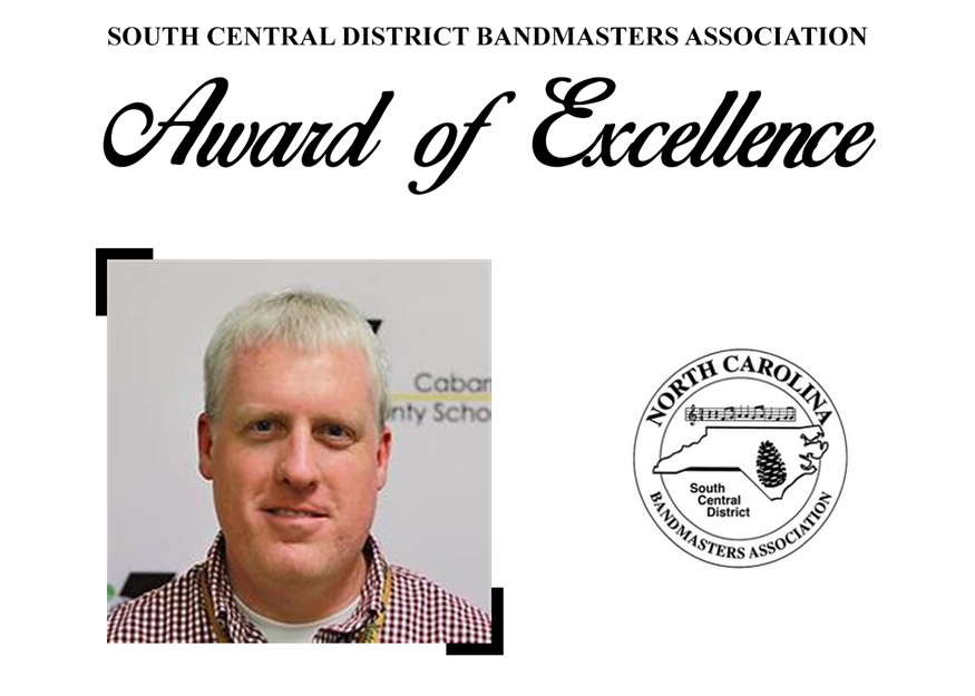 Bart Tulbert Selected as Award of Excellence Recipient