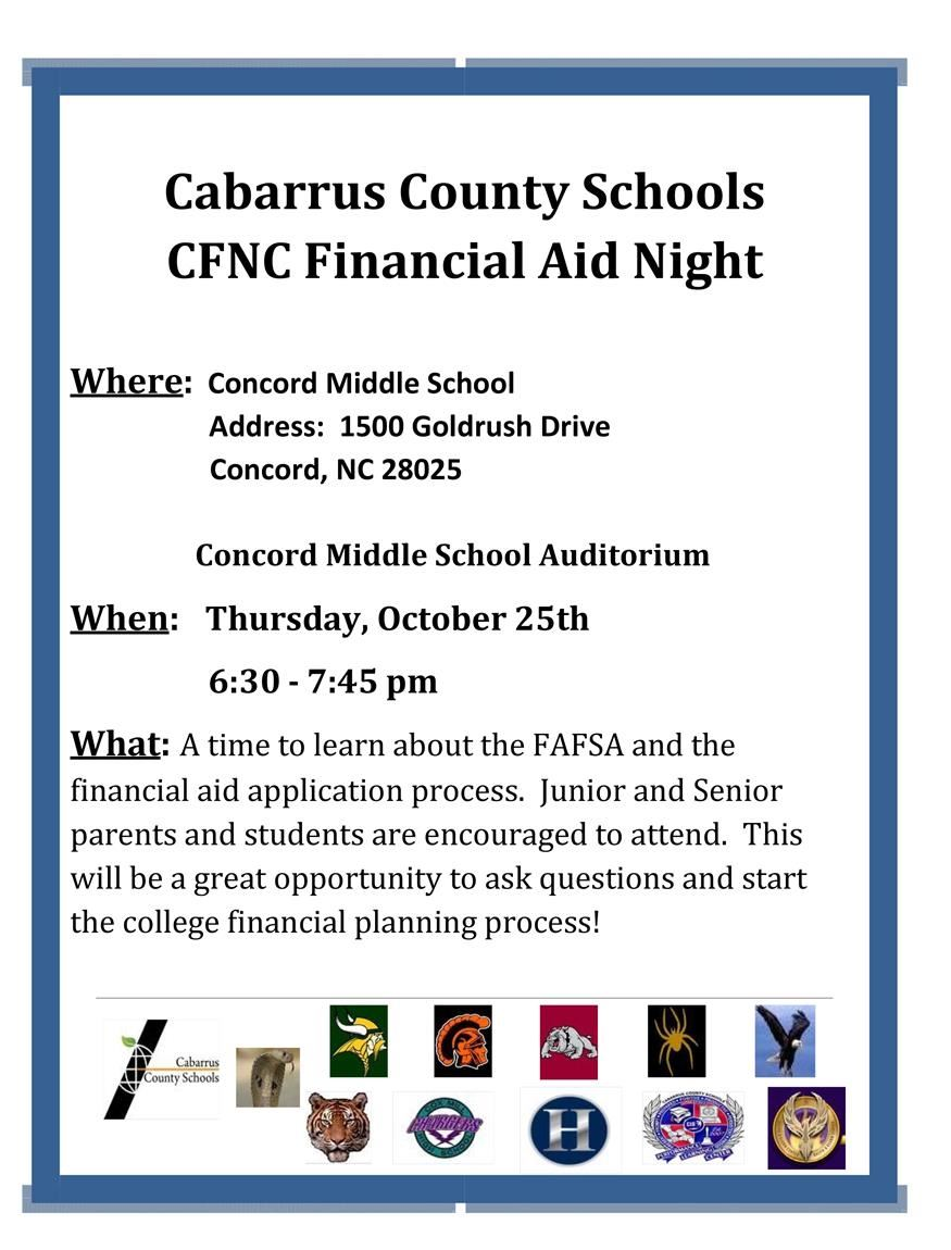 CCS College Financial Aid Night
