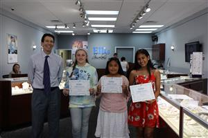 Students Win Jewelry Design Contest