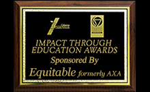 Click to View Impact Through Education Award Recipients