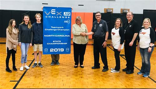 NCMS Robotics Team Gets Community Support
