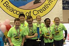 WHES Students Win Odyssey of the Mind Competition
