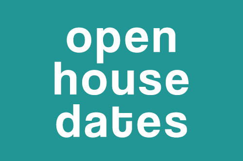 2019-2020 Open House Dates