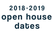 New School Year Open House Dates Set