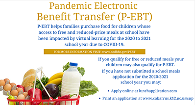 Follow this link, P-EBT program helps families purchase food