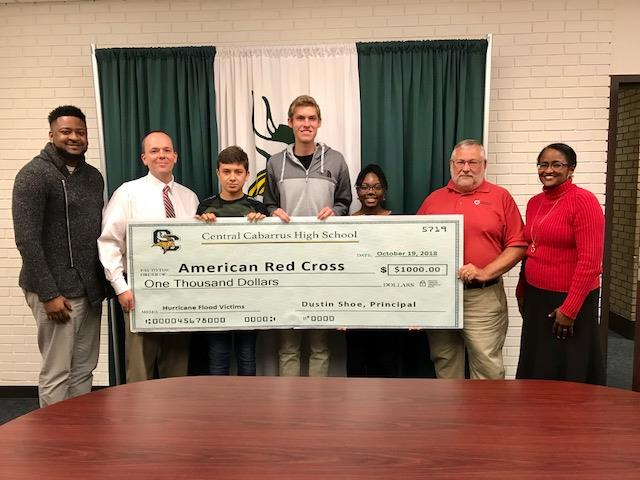 CCHS CTE Program Raises Hurricane Relief Funds