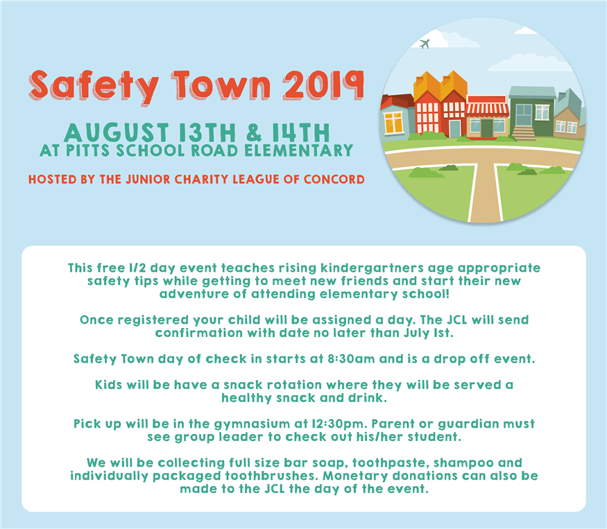 You're Invited: JCL's Annual Safety Town