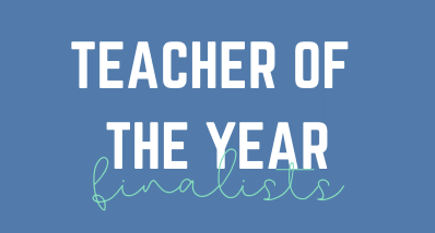 Teacher of the Year Finalists Announced