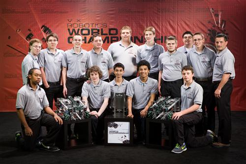Click Image for more Pics of Team 5139 @ Worlds