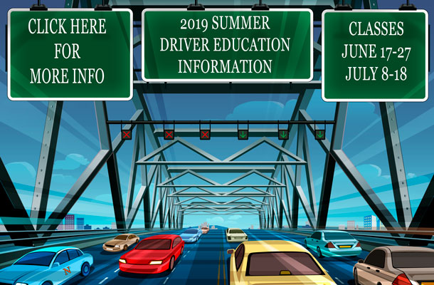 Summer Driver Education Information