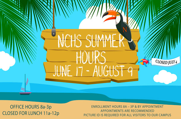 NCHS Summer Office Hours