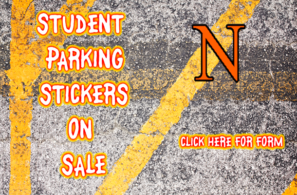 Student Parking Stickers on Sale