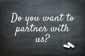 Do you want to partner with us?