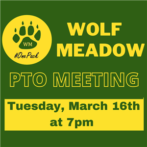 March 16 PTO Meeting